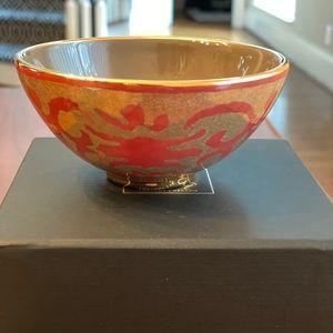 L'Objet Fortuny Bowl Farnese Red - small
